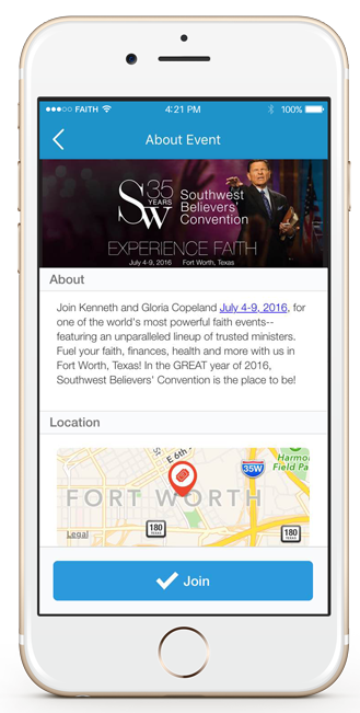 Check Out The KCM Events App!